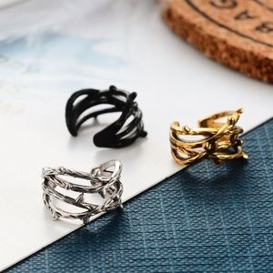 Any 2/$20! Set of 3 Barbed Wire Ear Clip Earrings
